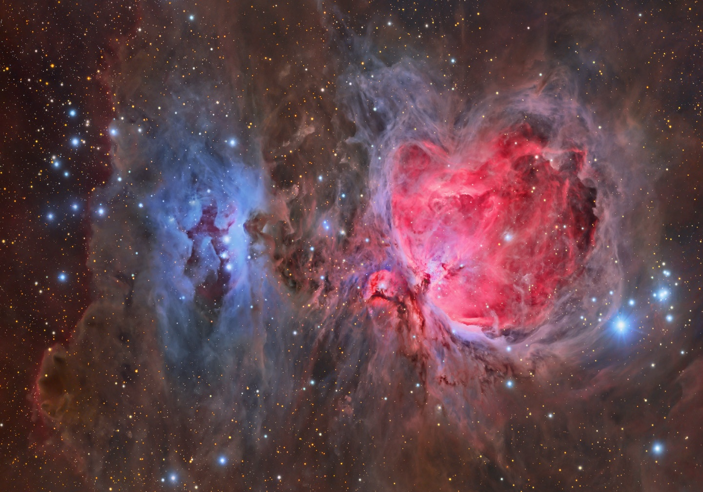 """Orionnebel - Messier 42 (M42) <br />Credits and Copyright: Tony Hallas (<a href=""""http://www.astrophoto.com"""" target=""""_blank"""">http://www.astrophoto.com</a>)<br />Veröffentlicht mit freundlicher Genehmigung von Tony Hallas."""